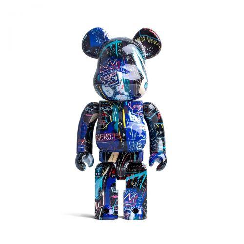 medicom toy bearbrick jean michel basquiat#7 1000% toy 1000BASQUIAT#7