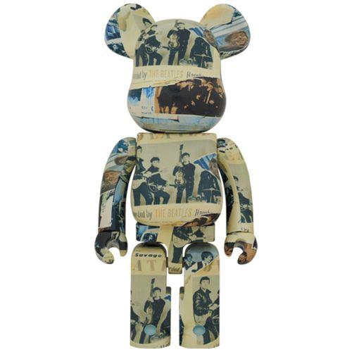 medicom toy bearbrick beatless toy 1000BEATLESS