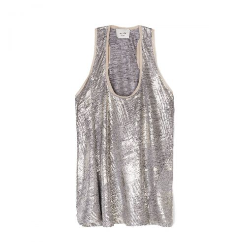 alysi platinum melange woman top 101428