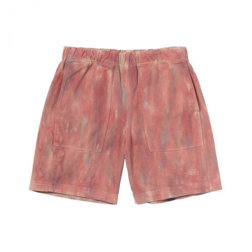stussy dyed easy short uomo shorts 112261