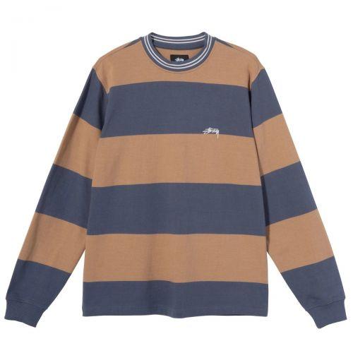 stussy moore stripe uomo maglia 1140219