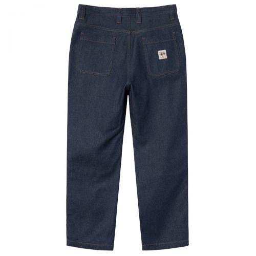 stussy denim double knee hombre pantalones 116500