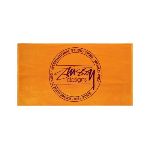 stussy dot jacquard towel accessori 138709