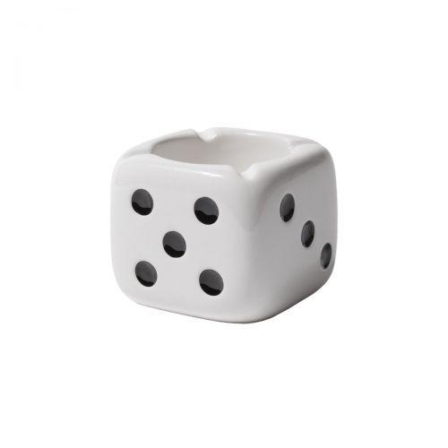 stussy ceramic dice ashtray accessori 138743