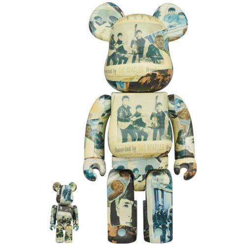 medicom toy bearbrick beatless 100%+400% toy 14BEATLESS