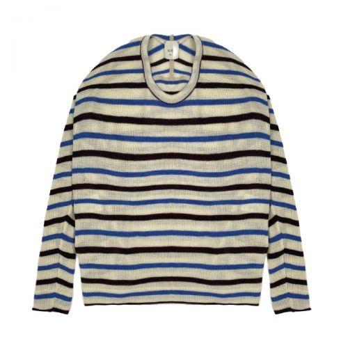 alysi stripes tricot woman cardigan 151408