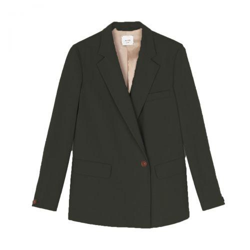 alysi blazer poly woool doppio petto mujer chaqueta 151830