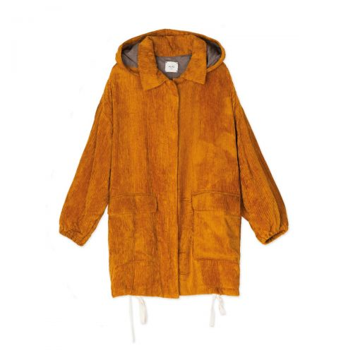 alysi caban velvet mujer ropa de calle 151906