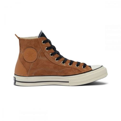 converse chuck 70 hi leather patchwork man sneakers 169140C