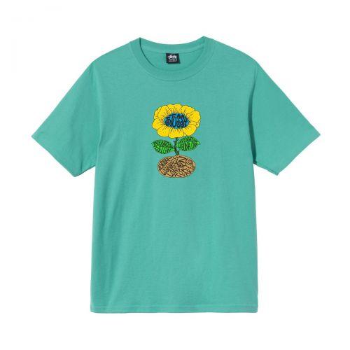 stussy sunflower tee hombre t-shirt 1904693