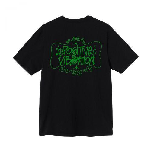 stussy positive vibration tee uomo t-shirt 1904711