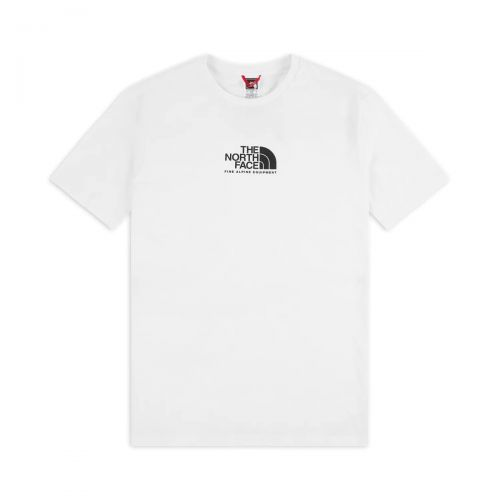 the north face s/s fine alpine equipment tee 3 homme t-shirt 4szu