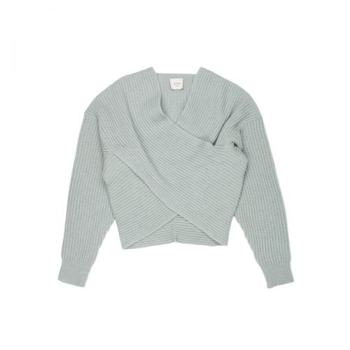 alysi soft wool incrocio donna maglia 250471