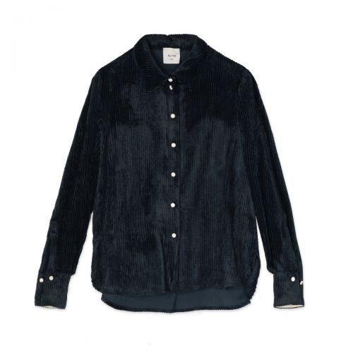 alysi velvet rib mujer camisa 151219