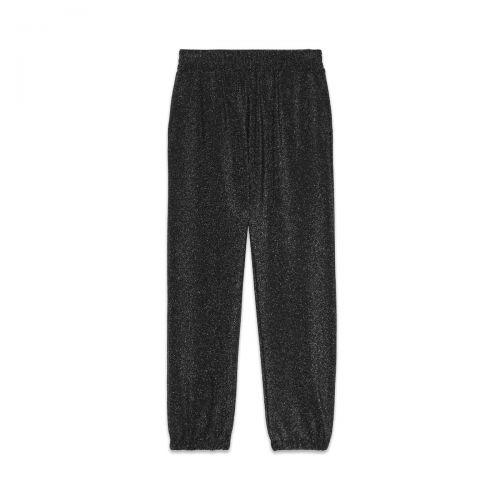 ottod'ame pantalone jogger con lurex woman pants ep8788