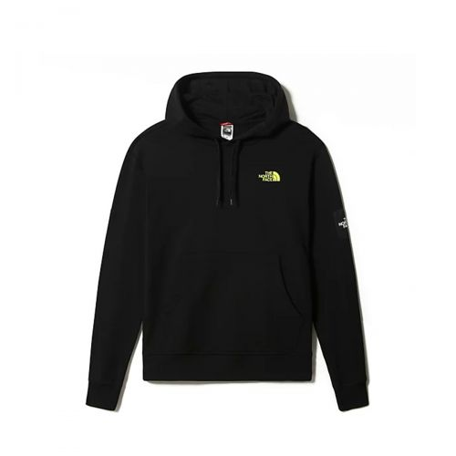 the north face m black box hoodie fleece  homme sweat à capuche 557H