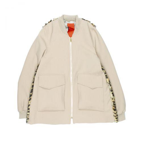 rame caban pelliccia mujer ropa de calle FFCAP05