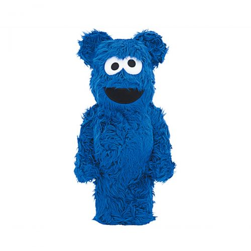 medicom toy bearbrick 1000% cookie monster costume version toy 1000COOKIEM