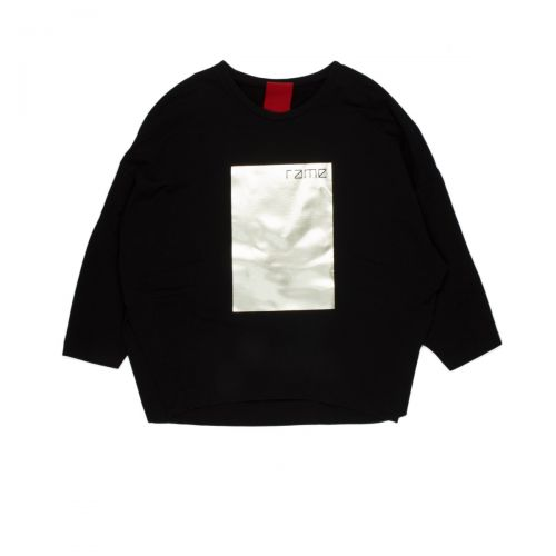 rame stampa metallizata mujer camisa de entrenamiento FFSWE03