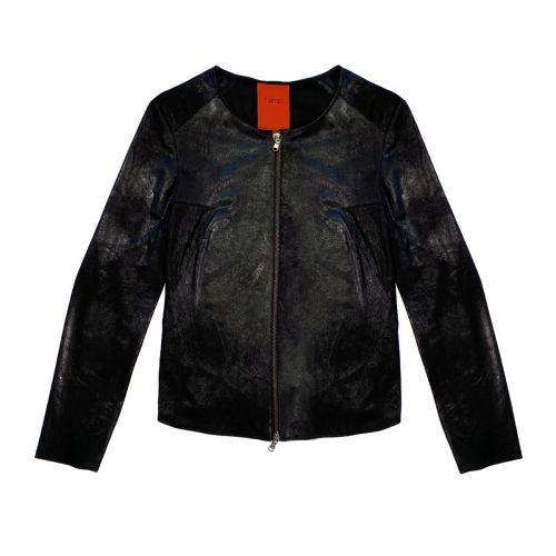 rame giacca scamosciata frau jacke FFCAP13