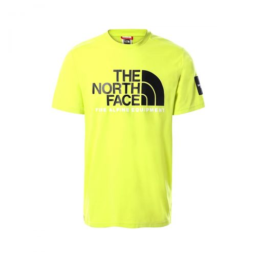 the north face ss fine alpine tee 2 homme t-shirt 4M6N