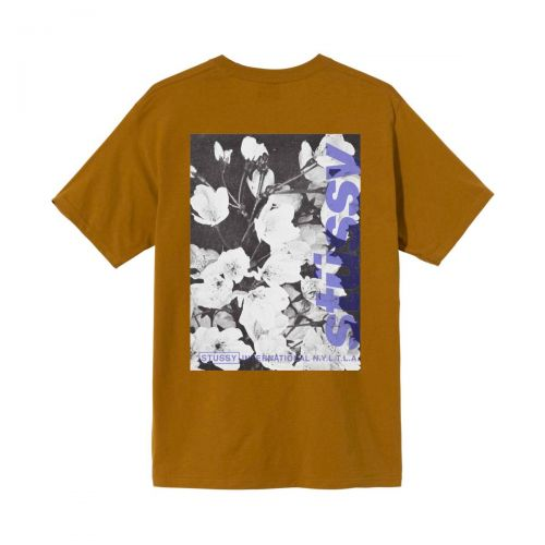 stussy windflower uomo t-shirt 1904589