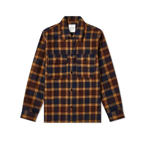 wood wood franco uomo camicia 12035310-5223