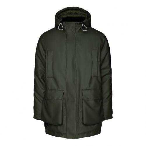 rains glacial parka hombre ropa de calle 1525