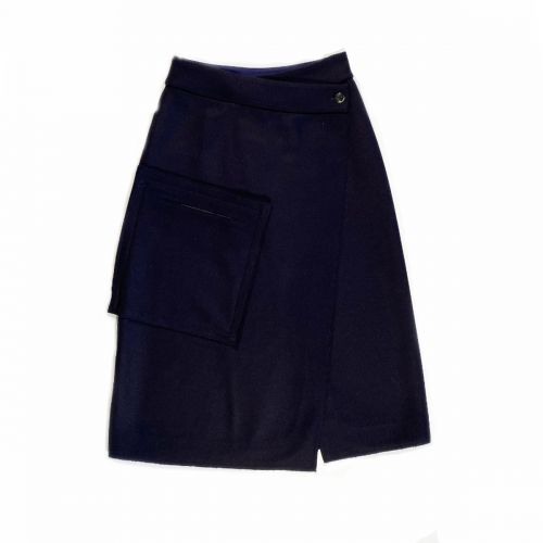 nine:inthe:morning sonia wrapover woman skirt AS01