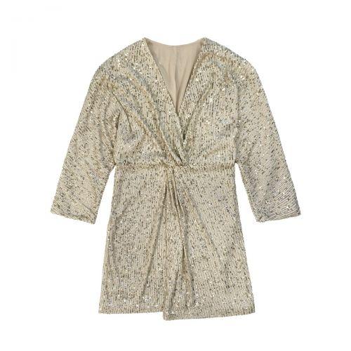 rame abito paillettes a kimono femme robe GSABI01