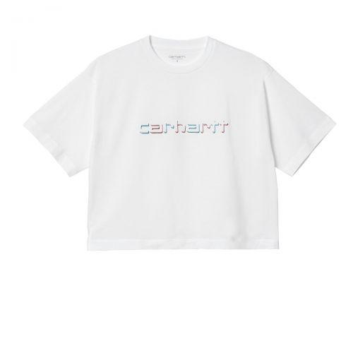 carhartt w' s/s shadow script donna t-shirt I029089