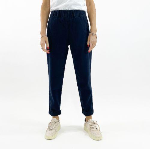 bottega chilometri zero elastico castle 4.10 donna pantaloni DD20510