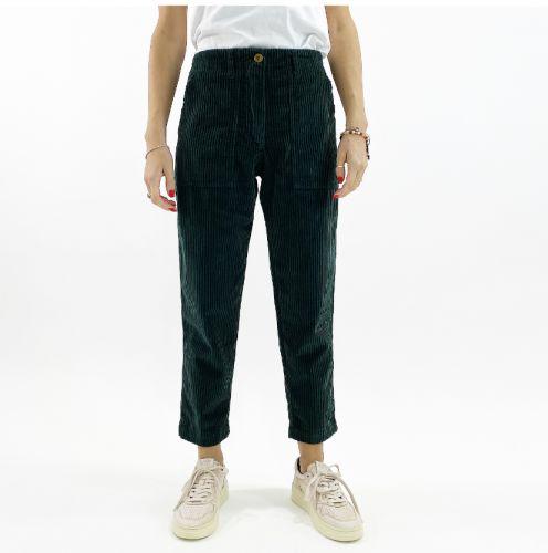 bottega chilometri zero  tasconi istria donna pantaloni DD20508