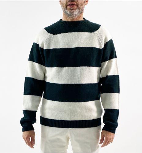 daniele fiesoli  girocollo raglan uomo maglia DF0163