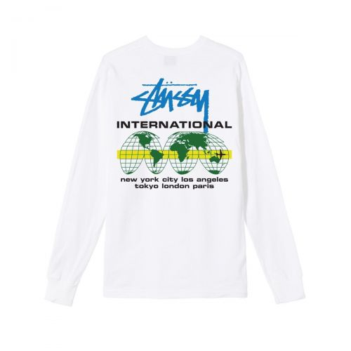 stussy international ls  uomo t-shirt 1994597
