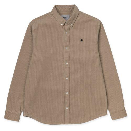 carhartt l/s madison cord uomo camicia I025247