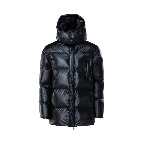 rains puffer hooded coat donna capospalla 1524