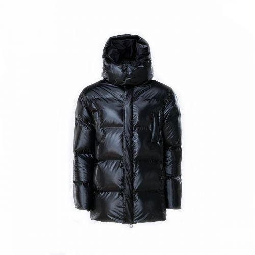 rains puffer hooded coat uomo capospalla 1524