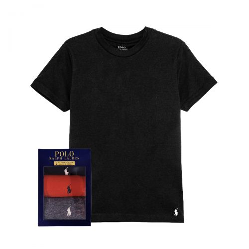 ralph lauren s/s crew 3 pack man t-shirt 714-830304-004