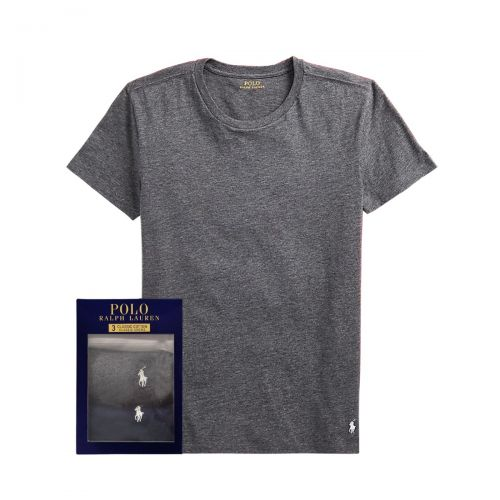 ralph lauren s/s crew 3 pack man t-shirt 714-830304-005