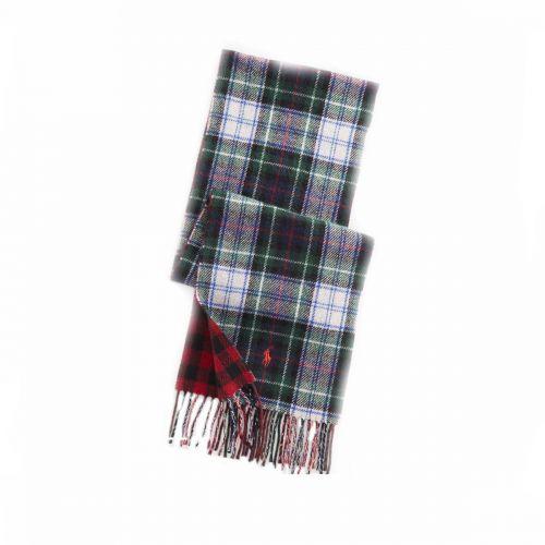 ralph lauren scozzese unisex sciarpa 449823789-003