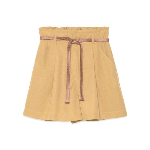 ottod'ame short vita alta woman pants dp8833