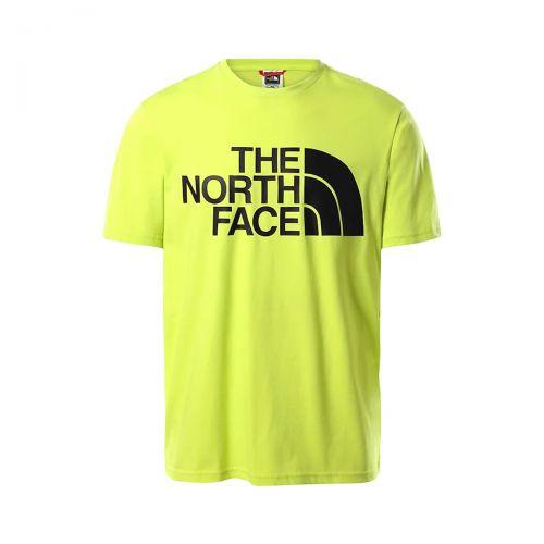 the north face m standard ss tee man t-shirt 4M7X
