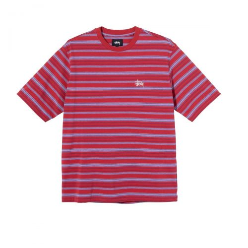 stussy heather stripe uomo t-shirt 1140218