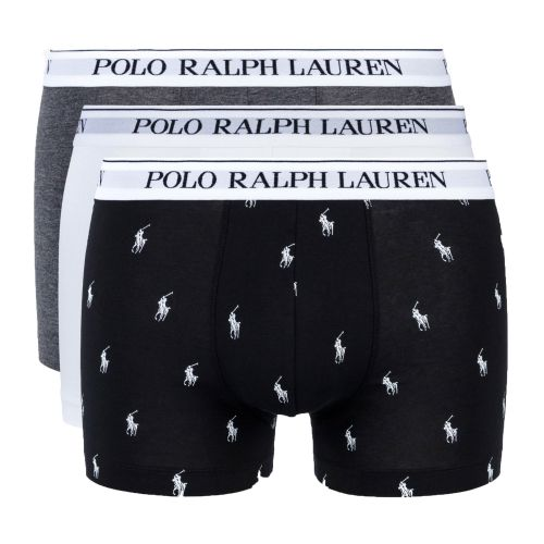 ralph lauren three-pack classic trunks uomo intimo 714662050
