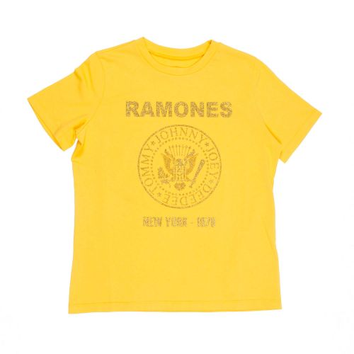 department 5 slim you ramones glitter frau t-shirt D19J02