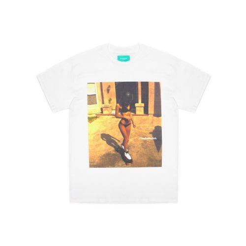 back side club sk graphic uomo t-shirt TH153