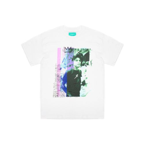 back side club crown graphic uomo t-shirt TH148