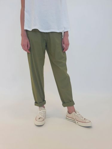 bottega chilometri zero 4.10 forte sully popelin donna pantaloni DD20109