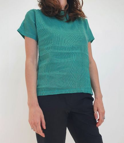 bottega chilometri zero  4.10 piedpoule o unit donna t-shirt DD20134